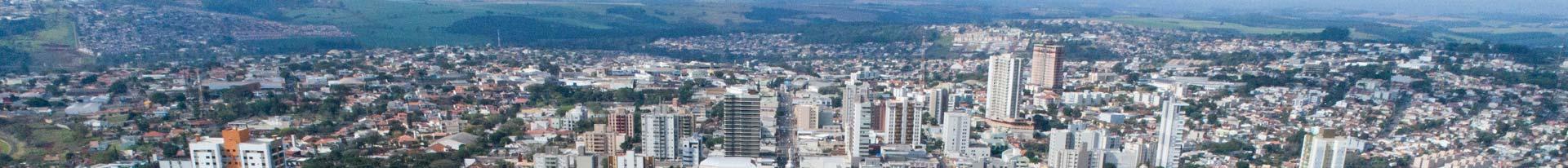 Foto aérea de Apucarana